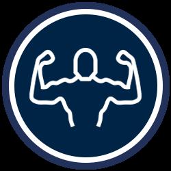 Chiropractic Scott LA Muscle Icon